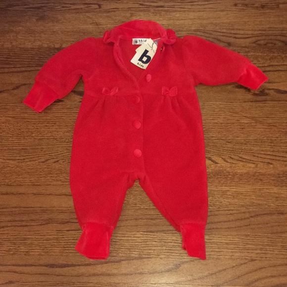 9ac783c1f4a Bloomingdales b kids baby winter onesie NWT NWT